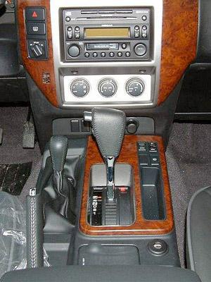zámek řazení Construct - Nissan Patrol